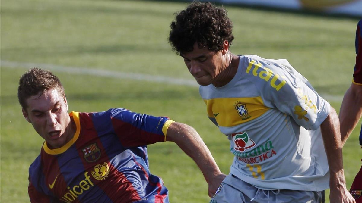 Riverola y Coutinho, frente a frente, en el 2010.