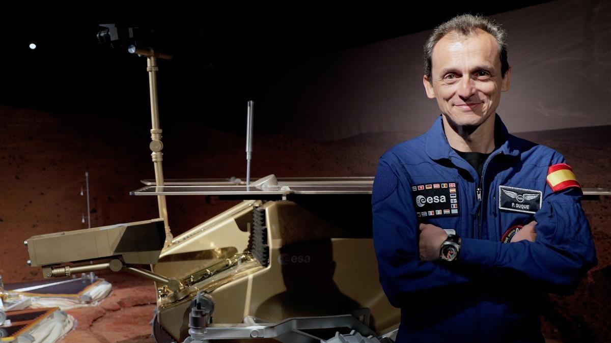 Pedro Duque, l'astronauta mediàtic, nou ministre de Ciència