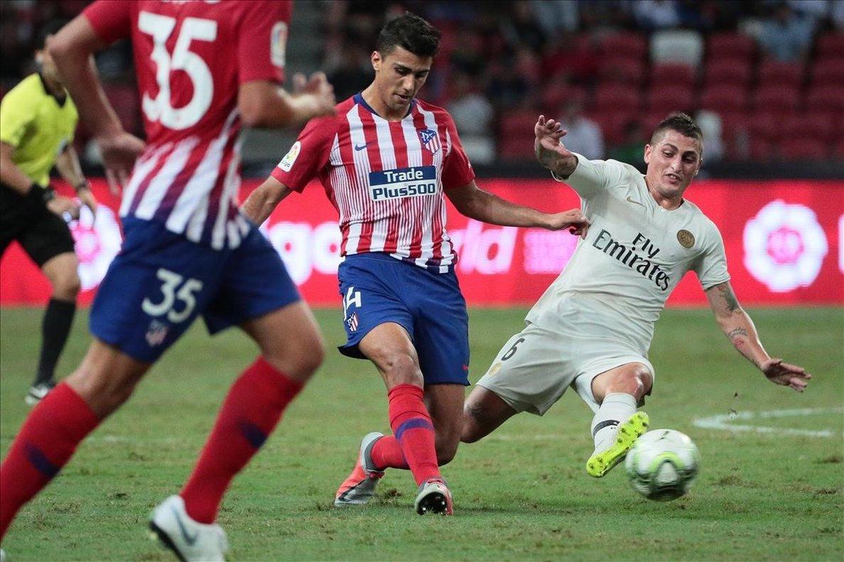 Rodri, que este fin de semana vuelve a La Cerámica, en un partido de Champions ante el PSG