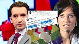 Guerra de tuits entre Cristina Seguí y Miguel Lago por el Orgullo LGTBI