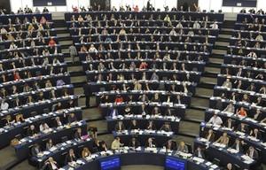 Sessió de l'Eurocambra a Estrasburg.