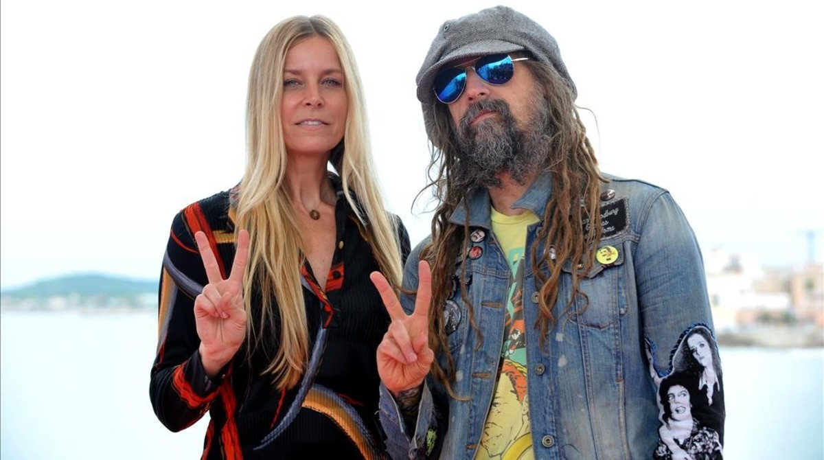 Rob zombie and sheri moon zombie excited too