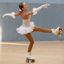 Sira Bella, patinadora del CP Parets.