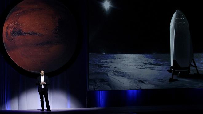 El empresario Elon Musk quiere iniciar la colonización de Marte en el 2022