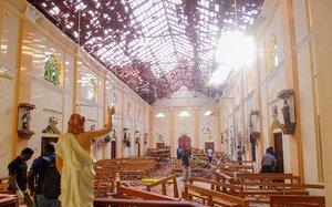 Atentado terrorista en Sri Lanka.
