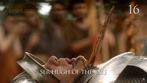 Uno de los más de 150.000 muertos de la serie Juego de tronos que se han recopilado en un vídeo de 21 minutos.