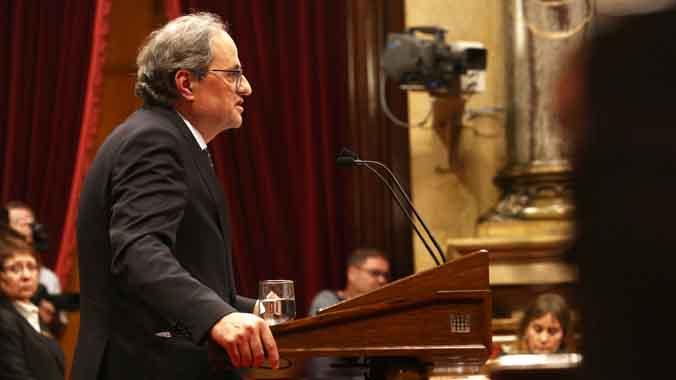 L'ultimàtum de Torra a Sánchez descol·loca el PDECat i ERC