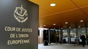 Uno de los accesos al Tribunal de Justicia de la Unión Europea en Luxemburgo.