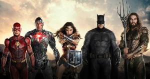 Una imagen promocional de Liga de la Justicia.