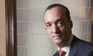 Francisco Martínez en enero de 2013, cuando fue nombrado secretario de Estado de Seguridad.