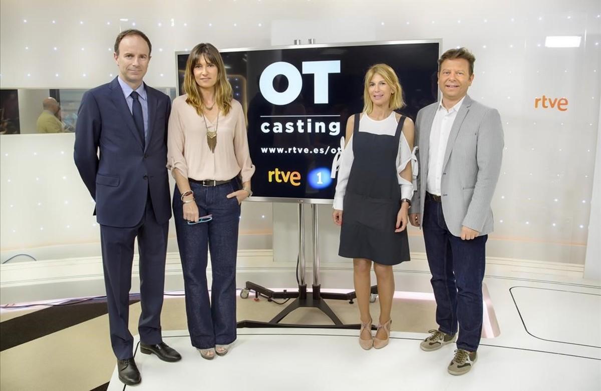 Presentación en TVE de los castings de la nueva edición de Operación Triunfo.