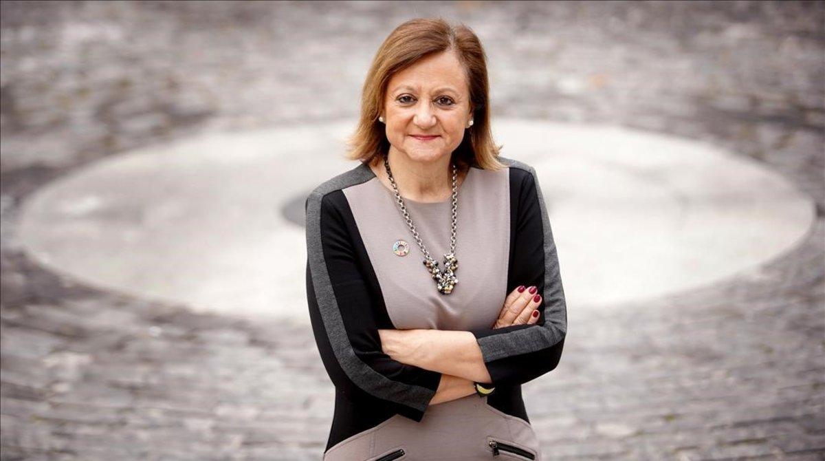 Cristina Gallach, el pasado mes de enero en Madrid.