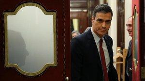 El presidente del Gobierno, Pedro Sánchez, en elCongreso de los Diputados.