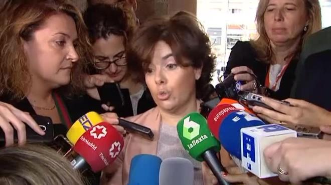 Santamaría critica que Quim Torra nombre a personas que no pueden ir a su trabajo.