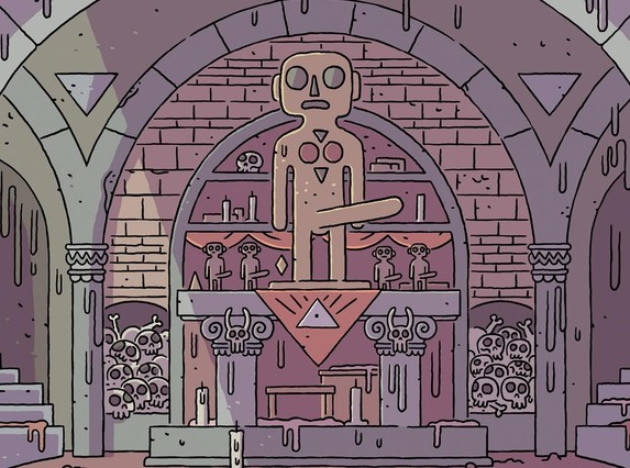 Viñeta del cómic 'Rituales', de Álvaro Ortiz.