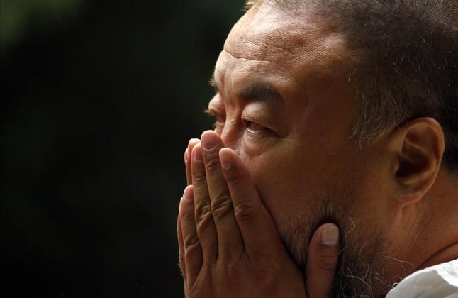 Ai Weiwei, en su estudio, en el 2012.