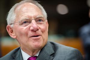 El ministro de Finanzas alemán,Wolfgang Schauble.
