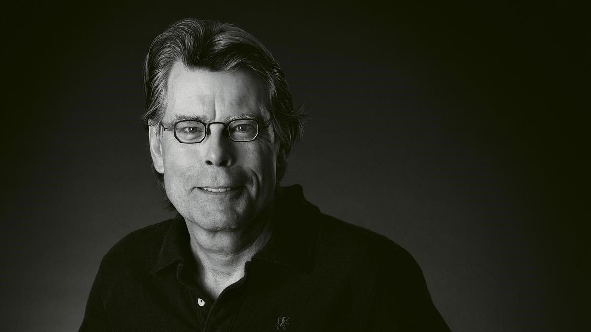 El escritor norteamericano Stephen King.