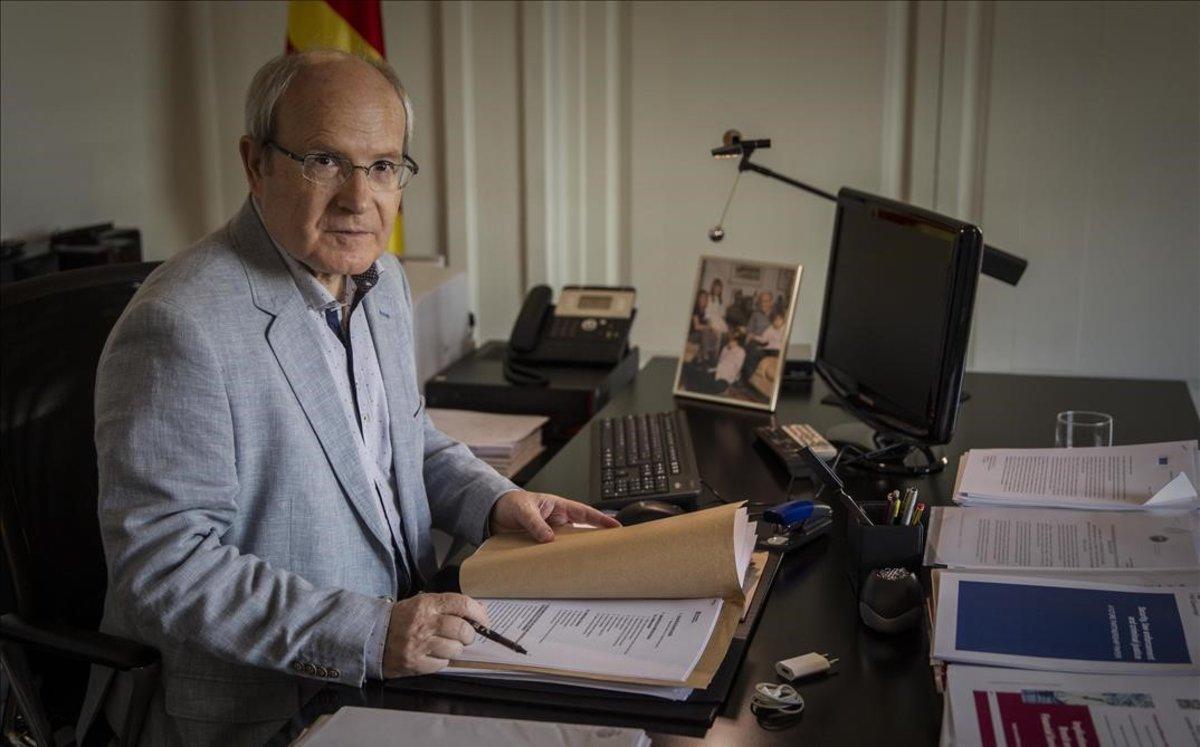 L'expresident Montilla visita els presos independentistes de Lledoners