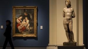 Uno de los rincones de la colección de renacimiento y barroco del MNAC.