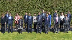 Imagen de archivo del consejo de administración de Abertis,una de las empresas con mayor presencia de mujeres en su órgano de gobierno.
