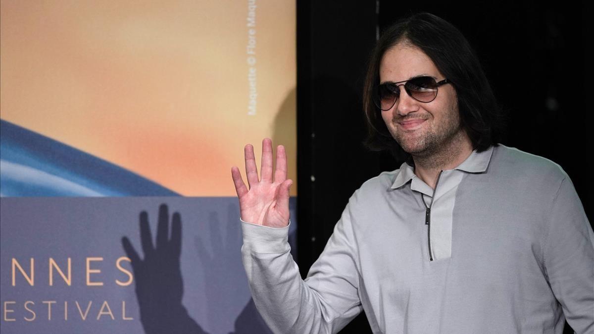 David Robert Mitchell, en el último festival de Cannes.