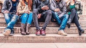 Un grupo de adolescentes, en unaimagen de archivo