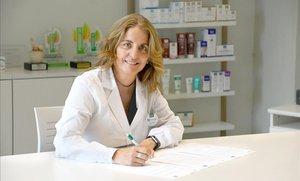 Montse Martí, CEO de los laboratorios MartiDerm.