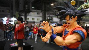 Ambiente en el Manga Barcelona en la muestra 'Dragon Ball World Adventure'.