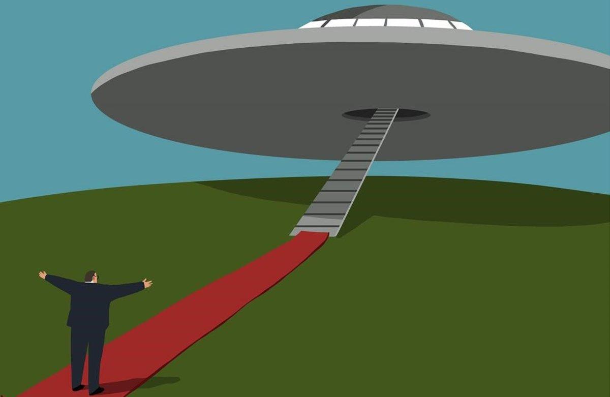 Recibimiento extraterrestre