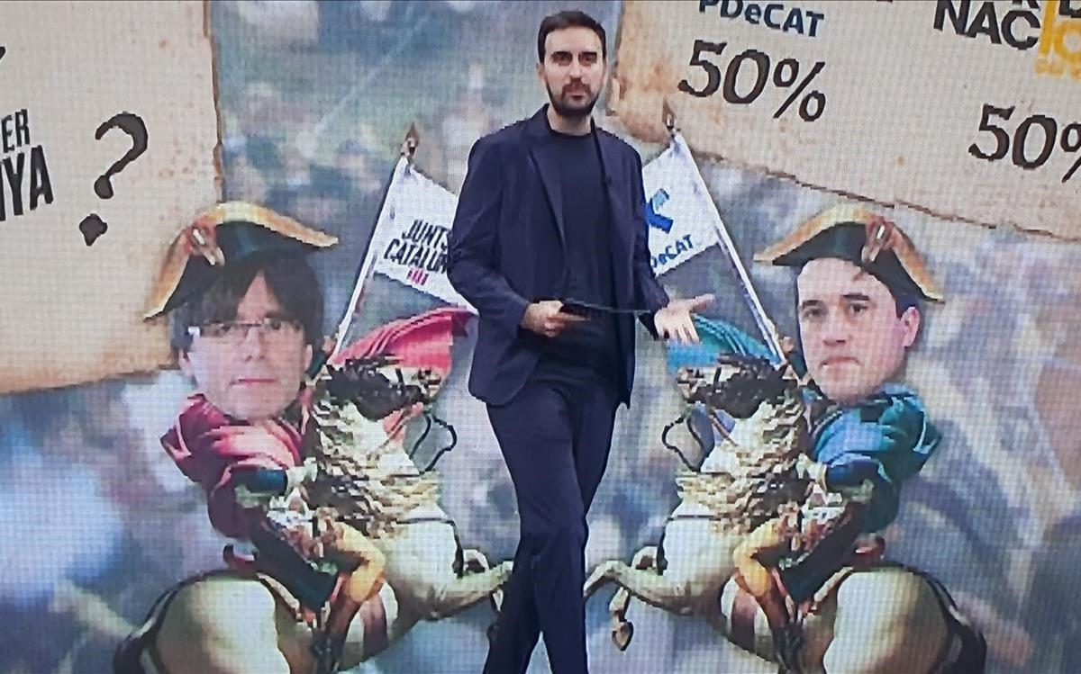 Estampa napoleónica en 'FACS' (TV-3).