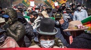 Fortes protestes a Bolívia per demanar eleccions