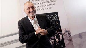 Arturo Pérez Reverte, en el Hotel Palace de Madrid, este martes.