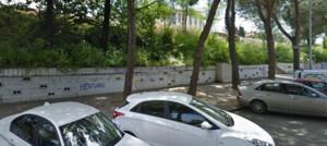 Calle del Ferrocarril en Mollet del Vallès.