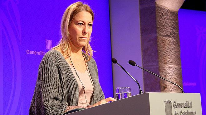 Declaracions de la vicepresidenta del Govern català, Neus Munté