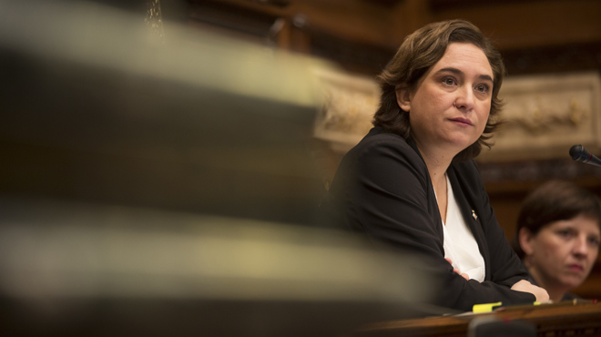 Ada Colau: Hem de treballar per aconseguir un referèndum en què tothom se senti interpel·lat