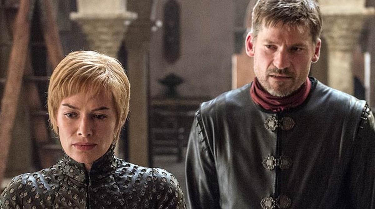 Cersei y Jaime Lannister, en una imagen de Juego de tronos