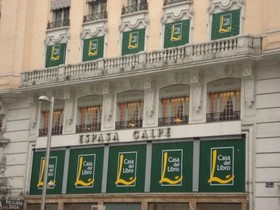 Casa del Libro de Gran Vía Madrid