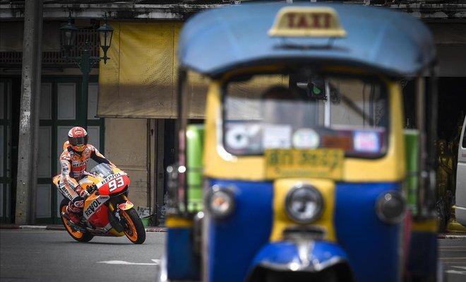 Terrible accidente en el MotoGP de Tailandia