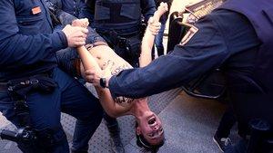 La activista de Femen.