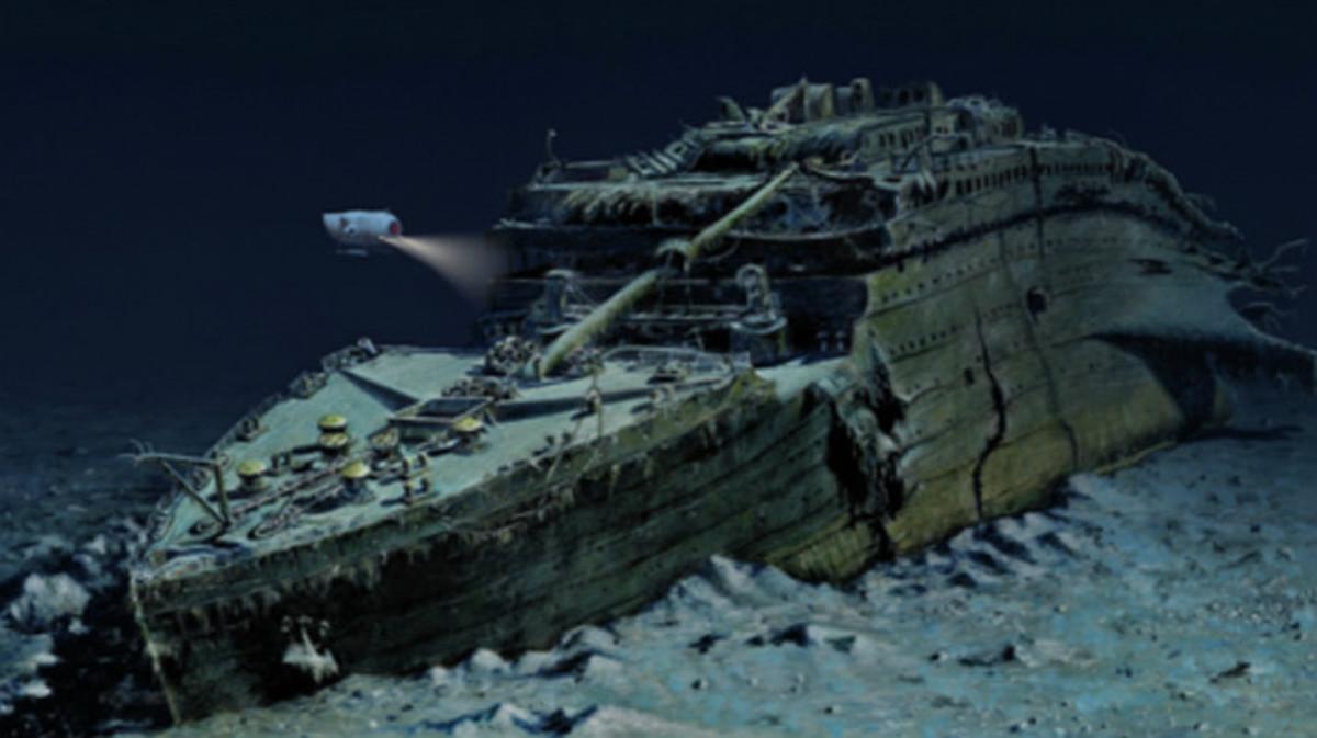 La agencia Blue Marble Private muestra con esta foto del Titanic su viaje de lujo estrella.