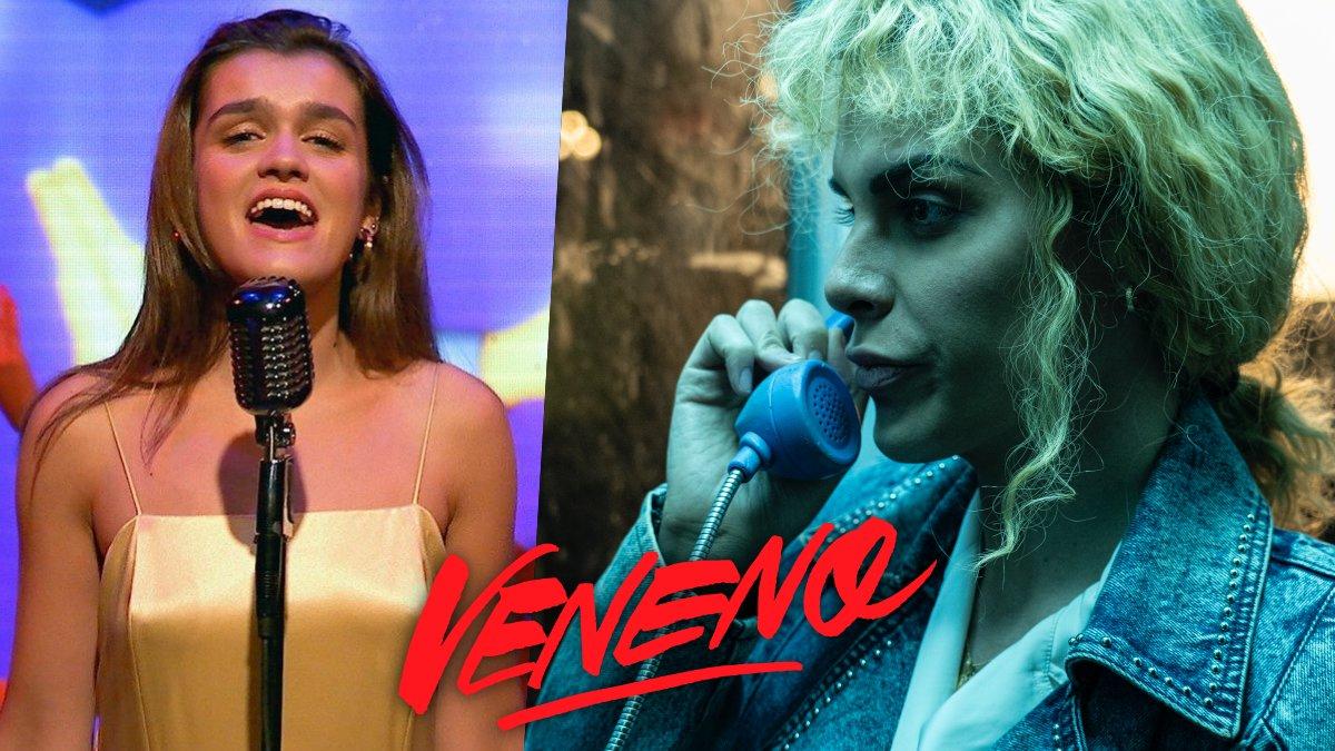 Amaia Romero y Jedet en una escena del cuarto episodio de 'Veneno'.
