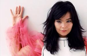 La artista islandesa Björk.
