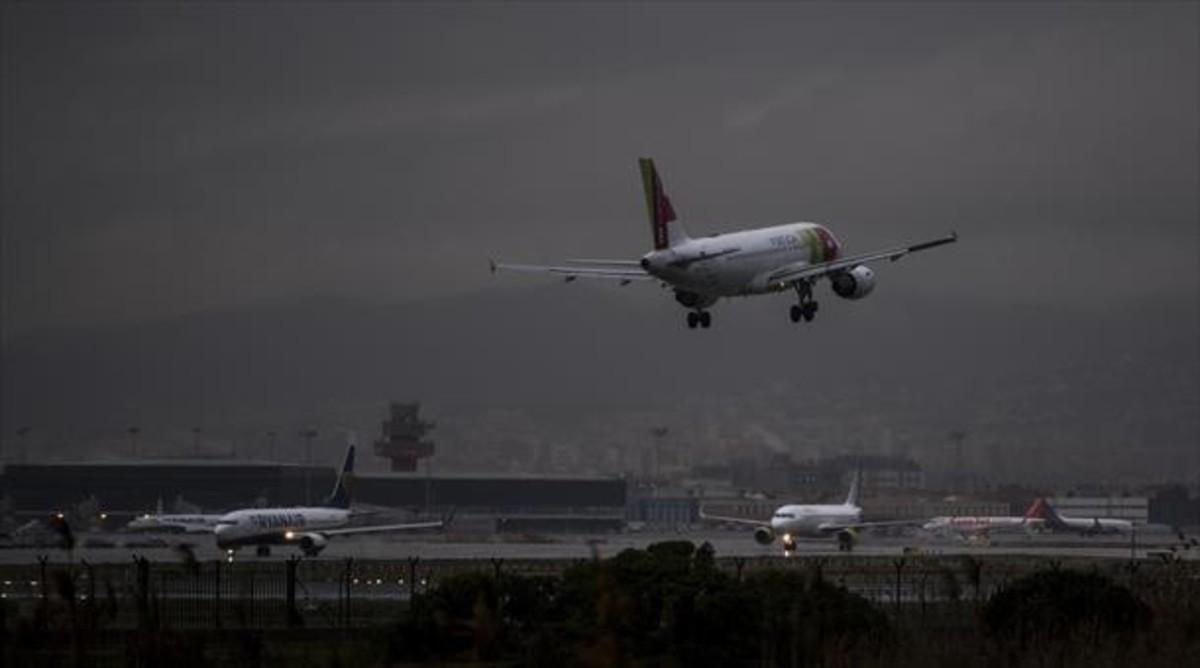 Terminal 1 de l'aeroportde Barcelona-El Prat.