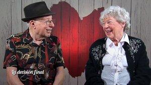 Betty y Giuseppe en 'First Dates'.