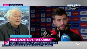 """Boadella: """"Piqué ha reconegut oficialment Tabàrnia, li estic molt agraït"""""""