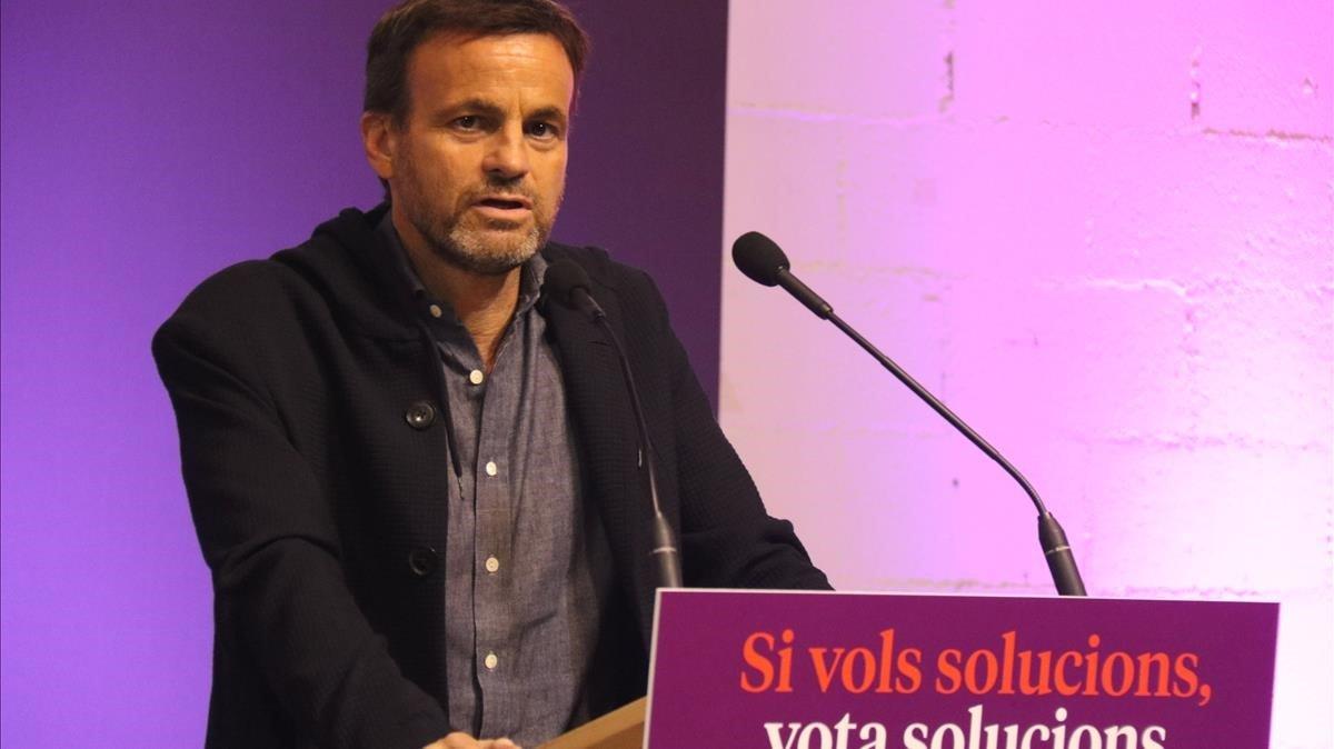 Jaume Asens,candidato al Congreso de En Comú Podem.