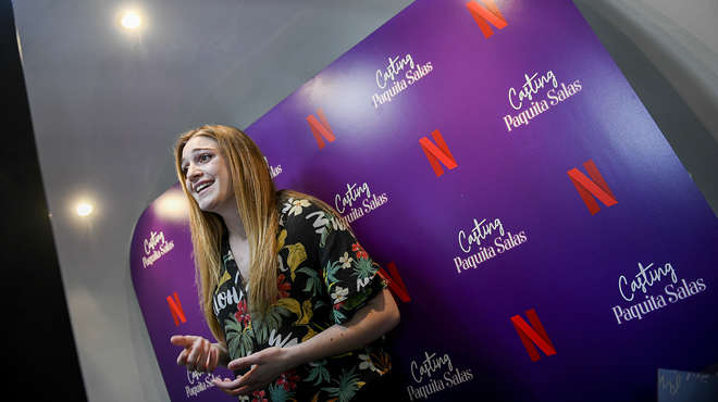 Casting de Paquita Salas para Netflix.