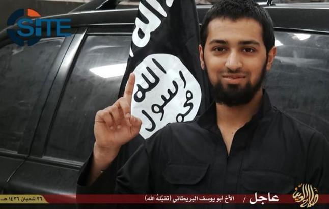 El menor británico que se ha suicidado en un atentado yihadista en Irak.