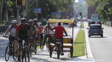 Los ciclistas no podrán circular por las aceras de BCN a partir del 2019